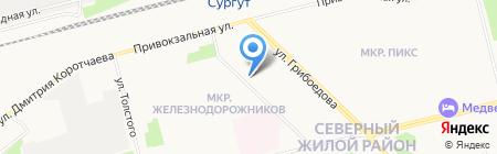 SRJ Group на карте Сургута