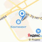 Sela на карте Омска