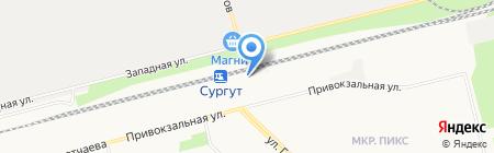 Пассажир-сервис на карте Сургута