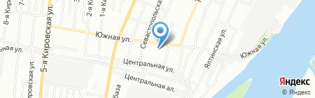 Детский сад №93 на карте Омска