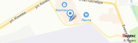 Галерея дверей на карте Омска
