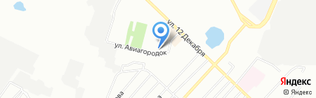 Социальный на карте Омска