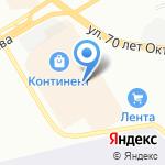 АЭЛИТА-professional на карте Омска