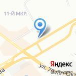 НОВЫЙ УРОВЕНЬ на карте Омска