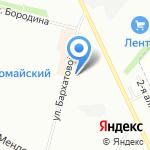 Азбука СУШИ на карте Омска