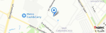 ЖСК Комфорт на карте Омска