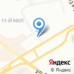 Академия массажа на карте Омска