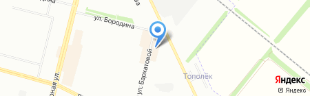 Синьор Робинзон на карте Омска