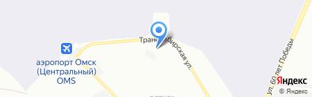 ПЕТРО-КАНАДА Омск на карте Омска