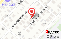 Схема проезда до компании Сервисно-Рекламной Компании «Луч» в Омске