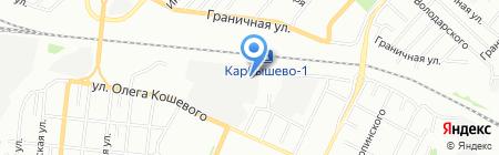 Мельница на карте Омска