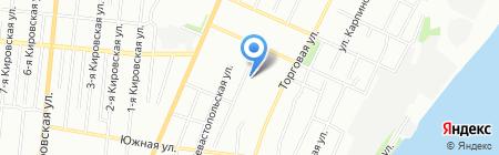 Детская художественная школа №2 на карте Омска