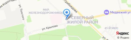 ДорСиб на карте Сургута