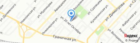 Средняя общеобразовательная школа №67 на карте Омска