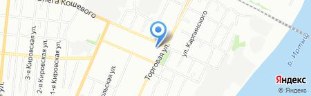 Гала на карте Омска