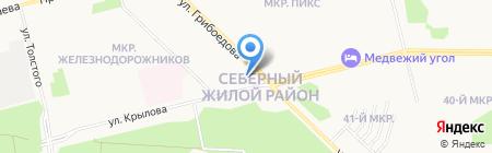 Стоматологическая поликлиника на карте Сургута