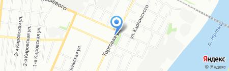 Дачник на карте Омска