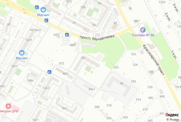 ЖК Дом на Менделеева, 44 к4