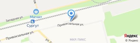 Панорама на карте Сургута