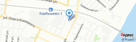 Отдел надзорной деятельности Кировского административного округа г. Омска на карте Омска