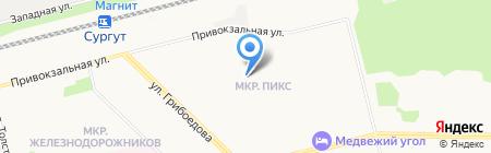 РЭУ-10 на карте Сургута
