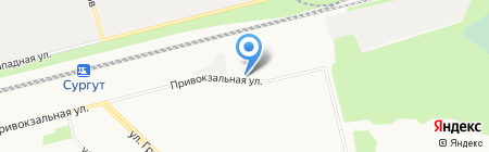 Авторегион86 на карте Сургута