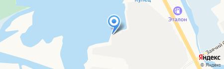 НИКОС на карте Сургута
