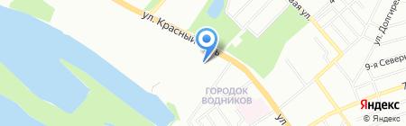 АнтА на карте Омска