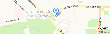 Храм Умиление на карте Сургута