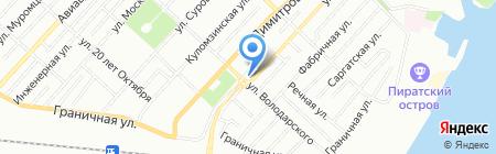 Адепт на карте Омска