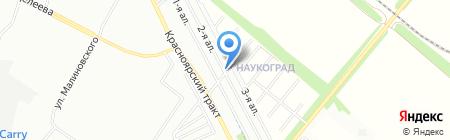 ЗапСибСтрой-2014 на карте Омска