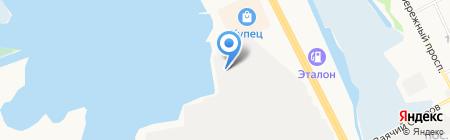 Автоцентр на карте Сургута
