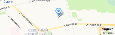Детский сад №76 на карте Сургута