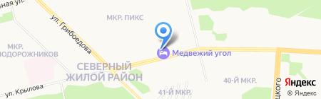 Dali Hall на карте Сургута