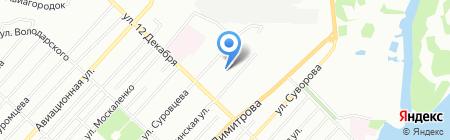 Детский сад №329 на карте Омска
