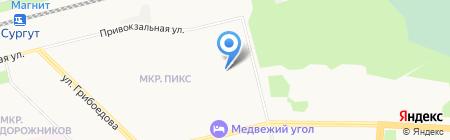 Аппетит на карте Сургута