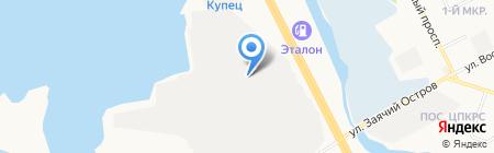 Ремонтно-строительная компания на карте Сургута