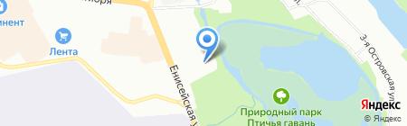 ЭГИДА на карте Омска