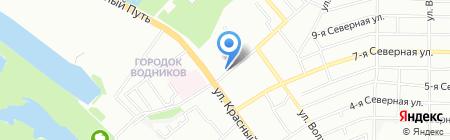 Райт на карте Омска