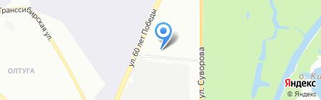 ЭВО-Плюс на карте Омска