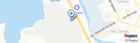 Scorpion на карте Сургута