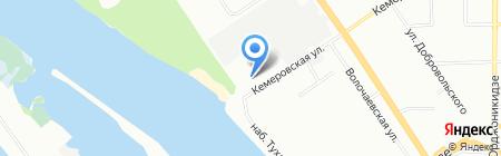 Angar на карте Омска