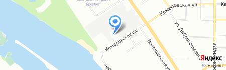 Адмирал М на карте Омска