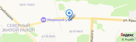 Зоомаркет на карте Сургута