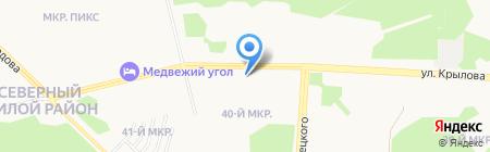 Майкор на карте Сургута