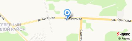 Удача на карте Сургута