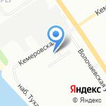Золотой Венец на карте Омска