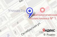 Схема проезда до компании НАЦИОНАЛЬНЫЙ ЗЕМЕЛЬНЫЙ ФОНД в Омске