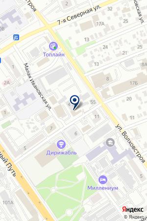 ПРОИЗВОДСТВЕННАЯ ФИРМА ДРОМ-СЕРВИС на карте Омска