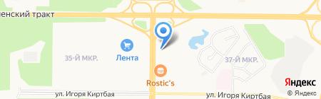 Жилище на карте Сургута